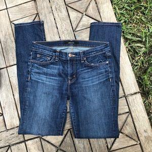 J Brand Skinny In Dark Vintage Jeans Size 29
